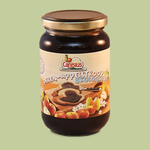 Organic Pear-Apple Spread in glass jar, 450g