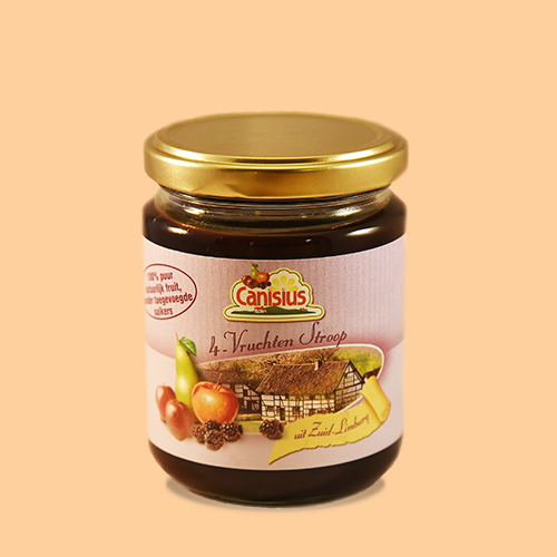 4 Fruit Spread in glass jar, 300g