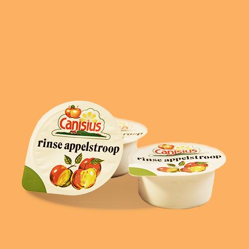 Kleinverpakking monocups Rinse appelstroop voor Horeca en Instellingen, 25 gr.