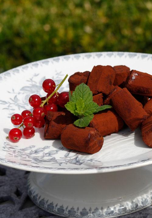 <div>Dessert:</div> De Canisius chocoladetruffel