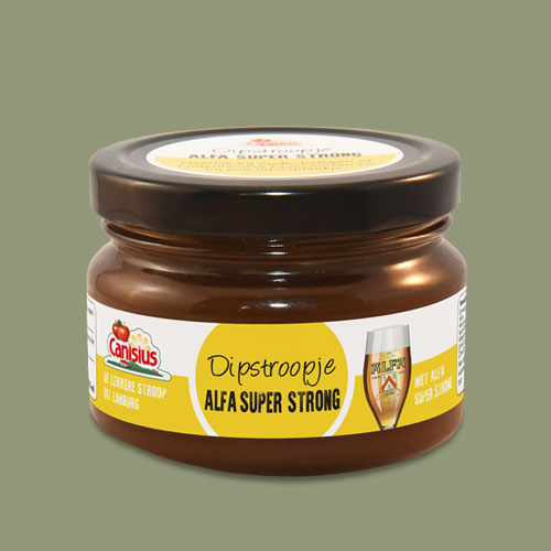 Dipstroopje Alfa Super Strong, 45 ml. en 170 ml.